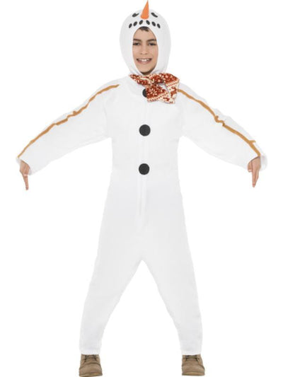 Snowman Boy Costume-Costumes - Boys-Jokers Costume Hire and Sales Mega Store