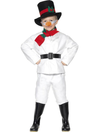 Snowman Costume-Costumes - Boys-Jokers Costume Hire and Sales Mega Store
