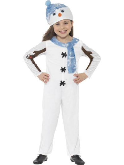 Snowman Toddler Costume-Costumes - Boys-Jokers Costume Hire and Sales Mega Store