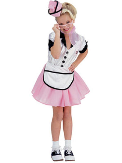 Soda Pop Girl - Size M-Costumes - Girls-Jokers Costume Hire and Sales Mega Store