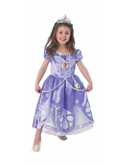 Sofia Deluxe - Size S.-Costumes - Girls-Jokers Costume Hire and Sales Mega Store