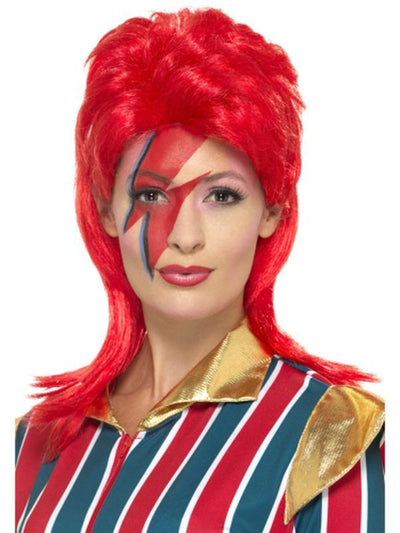 Space Superstar Wig-Wigs-Jokers Costume Hire and Sales Mega Store