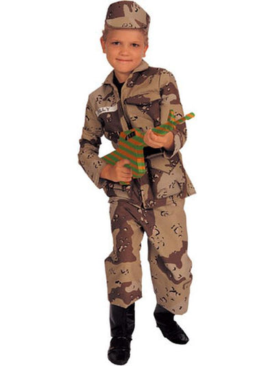 Special Forces Child Costume- Size S-Jokers Costume Mega Store