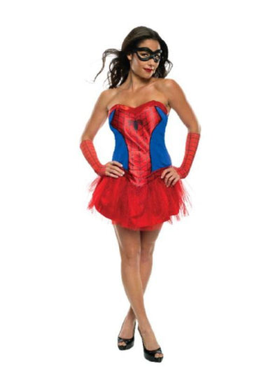 Spider-Lady - Size L-Costumes - Women-Jokers Costume Hire and Sales Mega Store