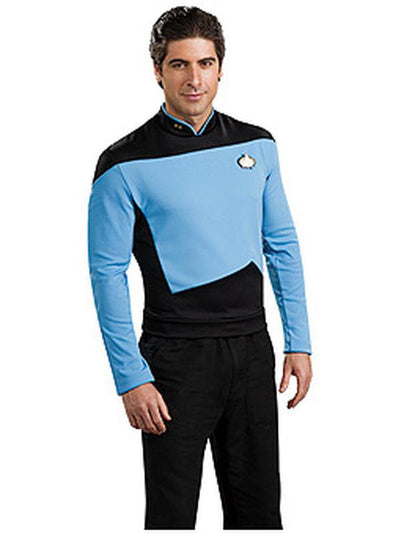 Star Trek Deluxe Scientist Uniform - Size M-Costumes - Mens-Jokers Costume Hire and Sales Mega Store