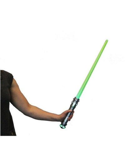 Star Wars Laser Sword- Green-Weapons-Jokers Costume Hire and Sales Mega Store