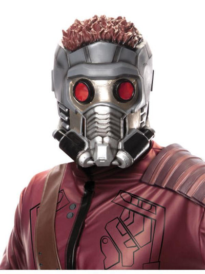 Starlord Adult 3/4 Mask-Masks - Latex-Jokers Costume Hire and Sales Mega Store