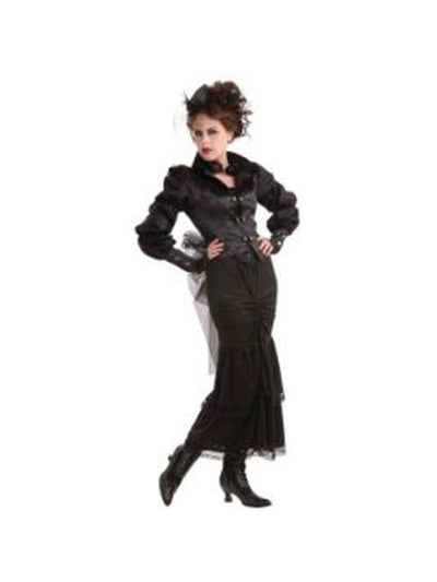 Steampunk Victorian Lady Costume - Size Std-Costumes - Women-Jokers Costume Hire and Sales Mega Store