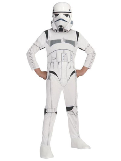 Stormtrooper Classic - Size 6-8-Costumes - Boys-Jokers Costume Hire and Sales Mega Store