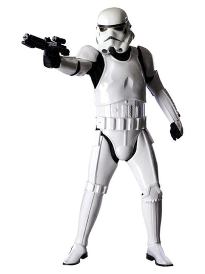 Stormtrooper Collector'S Edition - Size Xl-Costumes - Mens-Jokers Costume Hire and Sales Mega Store