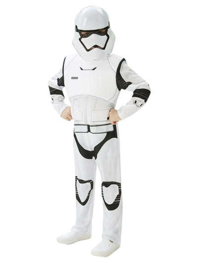 Stormtrooper Deluxe Costume - Size L - Age 7-8-Costumes - Boys-Jokers Costume Hire and Sales Mega Store