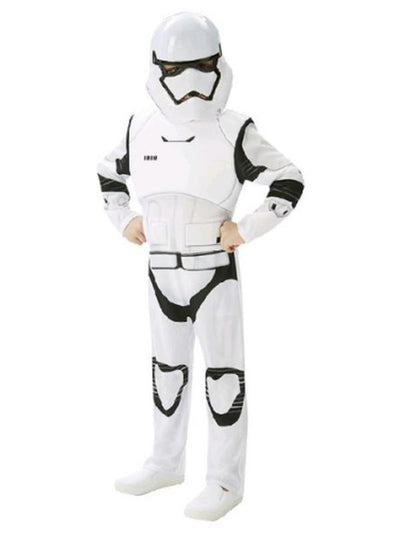 Stormtrooper Deluxe - Size 11-12-Costumes - Boys-Jokers Costume Hire and Sales Mega Store