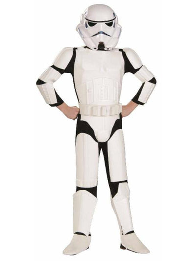 Stormtrooper Deluxe - Size S-Costumes - Boys-Jokers Costume Hire and Sales Mega Store