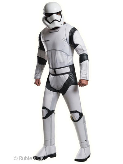 Stormtrooper Deluxe - Size Xl-Costumes - Mens-Jokers Costume Hire and Sales Mega Store