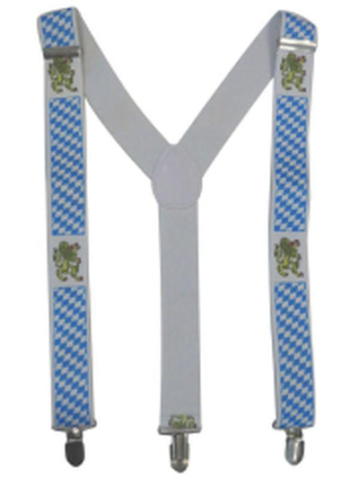 Stretch Braces/Suspenders - Oktoberfest-Costume Accessories-Jokers Costume Hire and Sales Mega Store