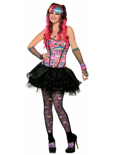 Sugar Max-Size Xs/S-Costumes - Women-Jokers Costume Hire and Sales Mega Store