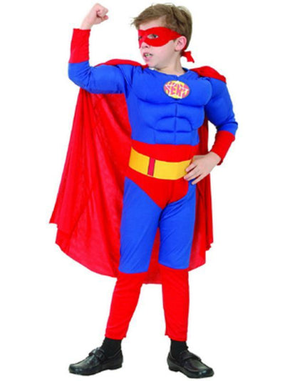Super Hero - Child - Large***-Costumes - Boys-Jokers Costume Hire and Sales Mega Store