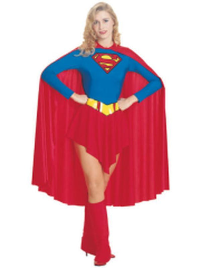 Supergirl Adult - Size L-Costumes - Women-Jokers Costume Hire and Sales Mega Store