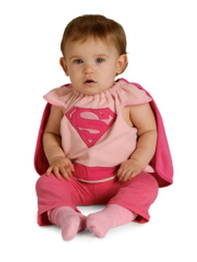 Supergirl - Size 0-6 Months-Costumes - Girls-Jokers Costume Hire and Sales Mega Store