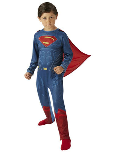 Superman Classic - Size L-Costumes - Boys-Jokers Costume Hire and Sales Mega Store