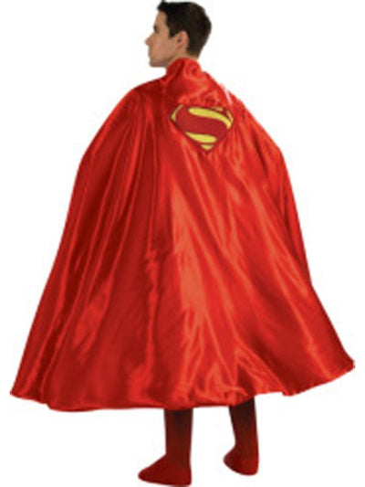 Superman Deluxe Cape Adult-Costume Accessories-Jokers Costume Hire and Sales Mega Store