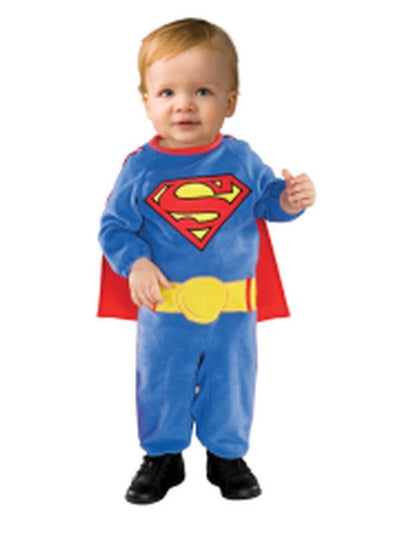 Superman - Size Toddler-Costumes - Boys-Jokers Costume Hire and Sales Mega Store