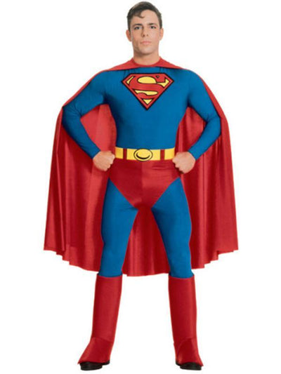 Superman - Size Xl.-Costumes - Mens-Jokers Costume Hire and Sales Mega Store