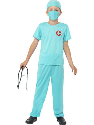 Surgeon Costume-Costumes - Boys-Jokers Costume Hire and Sales Mega Store