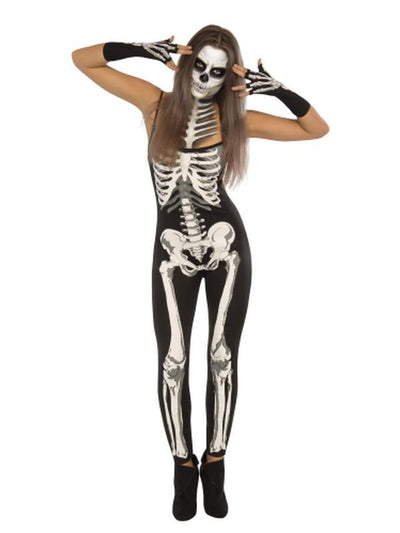 Suzy Skeleton Costume - Size M-Costumes - Women-Jokers Costume Hire and Sales Mega Store