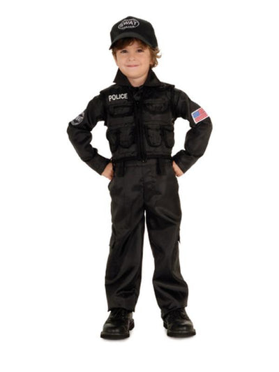 Swat Force - Size L-Costumes - Boys-Jokers Costume Hire and Sales Mega Store