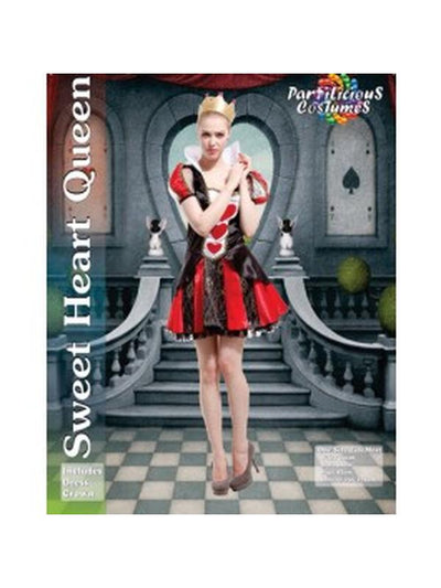 Sweet Heart Queen-Costumes - Women-Jokers Costume Hire and Sales Mega Store