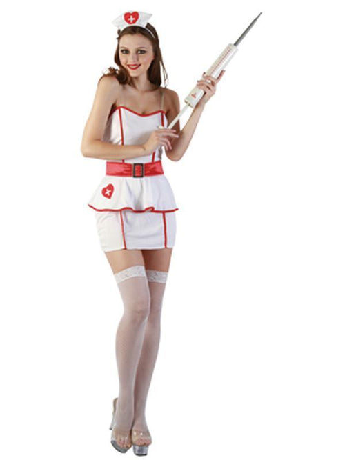Sweet Nurse - Adult - Large-Costumes - Women-Jokers Costume Hire and Sales Mega Store