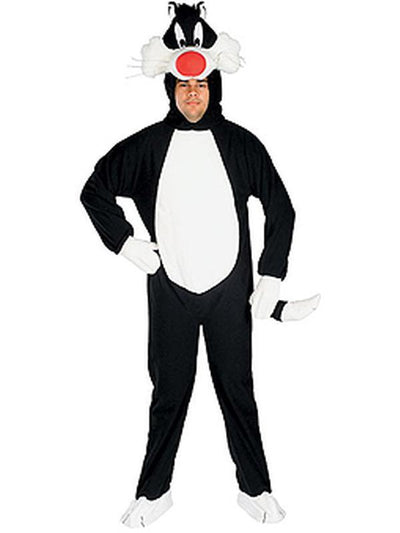 Sylvester Looney Tunes Adult - Size Std-Costumes - Mens-Jokers Costume Hire and Sales Mega Store