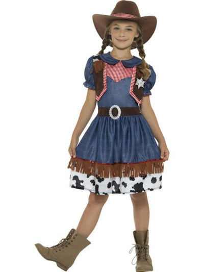 Texan Cowgirl Costume-Costumes - Girls-Jokers Costume Hire and Sales Mega Store