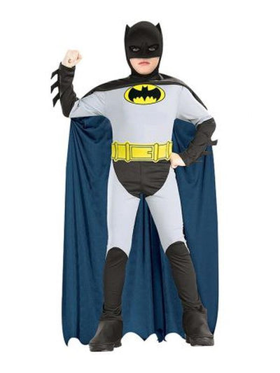 The Batman Costume - Size L-Costumes - Boys-Jokers Costume Hire and Sales Mega Store