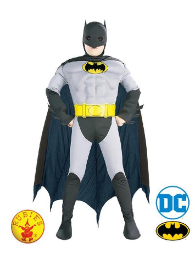 The Batman Deluxe Costume - Size 6-8-Costumes - Boys-Jokers Costume Hire and Sales Mega Store