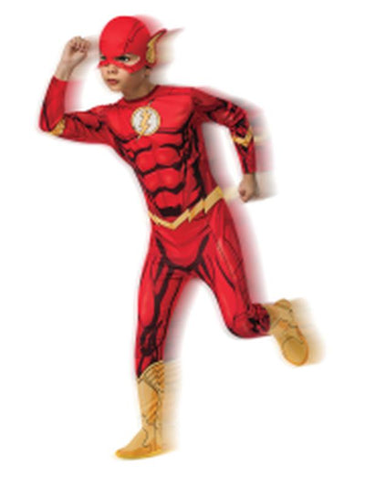 The Flash Classic - Size S-Costumes - Boys-Jokers Costume Hire and Sales Mega Store