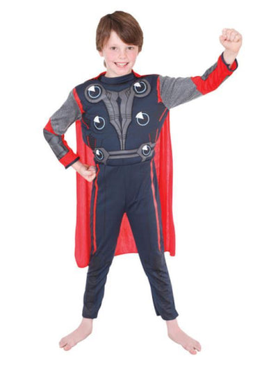 Thor Costume - Size 3-5-Costumes - Boys-Jokers Costume Hire and Sales Mega Store