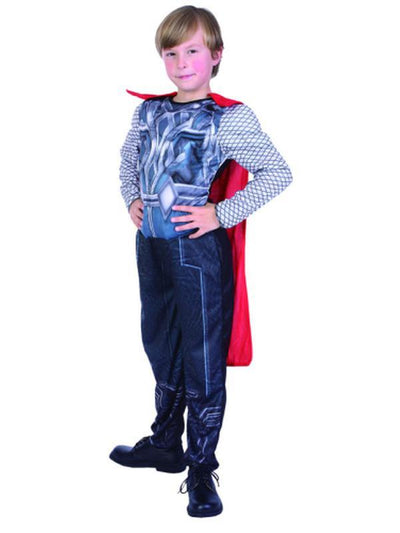 Thor Hero Muscle Suit - Child - Med***-Costumes - Boys-Jokers Costume Hire and Sales Mega Store