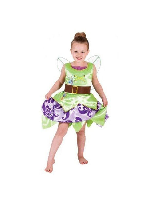 Tinker Bell Pirate Deluxe Child Costume - Size 4-6-Costumes - Girls-Jokers Costume Hire and Sales Mega Store