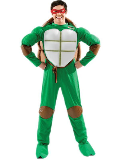 Tmnt Adult Teenage Mutant Ninja Turtle - Size Std-Costumes - Mens-Jokers Costume Hire and Sales Mega Store