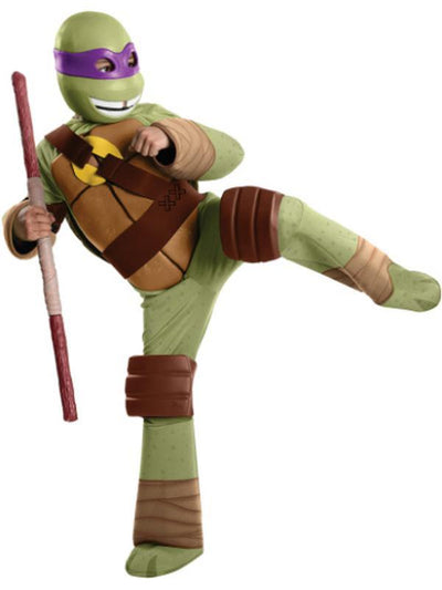 Tmnt Donatello Deluxe - Size S-Costumes - Boys-Jokers Costume Hire and Sales Mega Store
