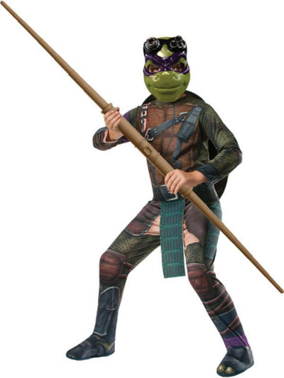 Tmnt Donatello - Size S-Costumes - Boys-Jokers Costume Hire and Sales Mega Store