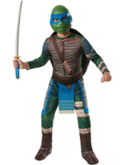 Tmnt Leonardo - Size Std-Costumes - Mens-Jokers Costume Hire and Sales Mega Store