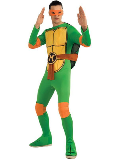Tmnt Michelangelo - Size Xl.-Costumes - Mens-Jokers Costume Hire and Sales Mega Store