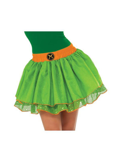 Tmnt Michelangelo Tutu Skirt - Size Std-Costumes - Women-Jokers Costume Hire and Sales Mega Store