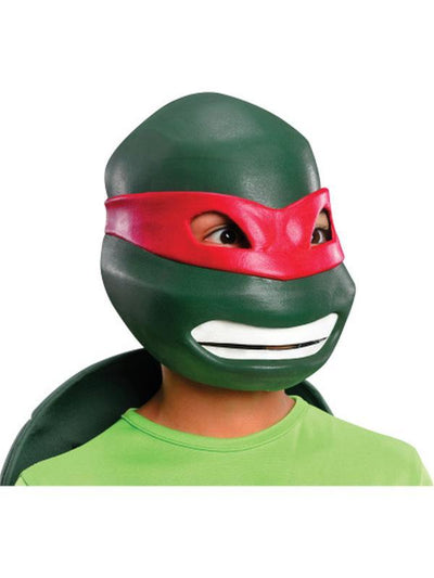 Tmnt Raphael 3/4 Mask - Child-Masks - Basic-Jokers Costume Hire and Sales Mega Store