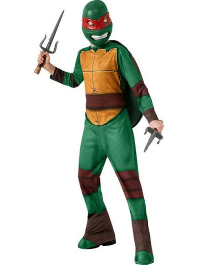 Tmnt Raphael Costume - Size S-Costumes - Boys-Jokers Costume Hire and Sales Mega Store