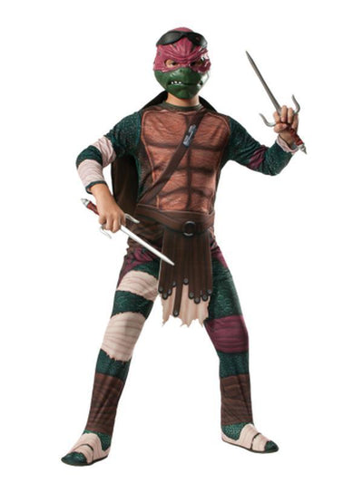 Tmnt Raphael - Size S-Costumes - Boys-Jokers Costume Hire and Sales Mega Store