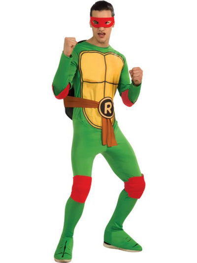 Tmnt Raphael - Size Std.-Costumes - Mens-Jokers Costume Hire and Sales Mega Store